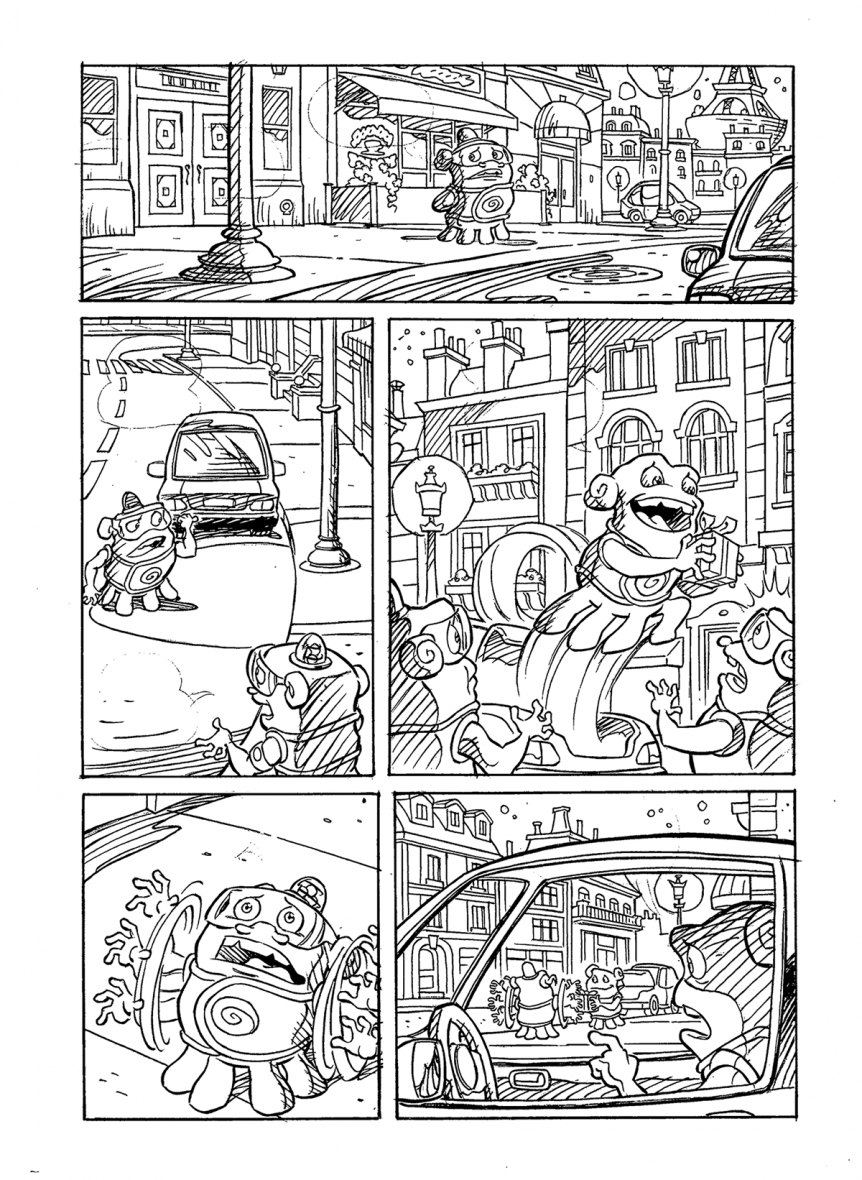 "Inks sample for licensed adaptation of ""Home"" feature film"